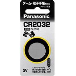 物品 パナソニック お得 リチウムコイン 1個入 ※お取り寄せ商品 CR2032P☆家電