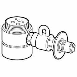 【パナソニック】食器洗い乾燥機用 分岐水栓 CB-SME6 ☆家電 ※お取り寄せ商品【02P03Dec16】