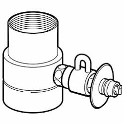 【パナソニック】食器洗い乾燥機用 分岐水栓 CB-SMJA6 ☆家電 ※お取り寄せ商品【02P03Dec16】