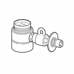 【パナソニック】食器洗い乾燥機用 分岐水栓 CB-SMF6 ☆家電 ※お取り寄せ商品【02P03Dec16】