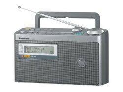【パナソニック】FM/AM 2バンド非常用ラジオ RF-U350-S ☆家電 ※お取り寄せ商品【02P03Dec16】