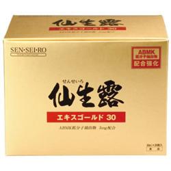 【S・S・I 】仙生露 エキスゴールド30 30ml×30袋 ※お取り寄せ商品【02P03Dec16】