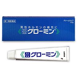 【第1類医薬品】【送料無料の3個セット】【大東製薬】男性ホルモン軟膏 グローミン 10g (性機能改善)※お取り寄せになる場合もございます【02P03Dec16】