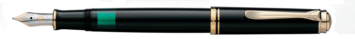 【毎日ポイント10倍!】【ペリカン★正規輸入品】スーベレーン M400 万年筆 ブラック EF(極細字) [保証書付き] ※お取り寄せ商品