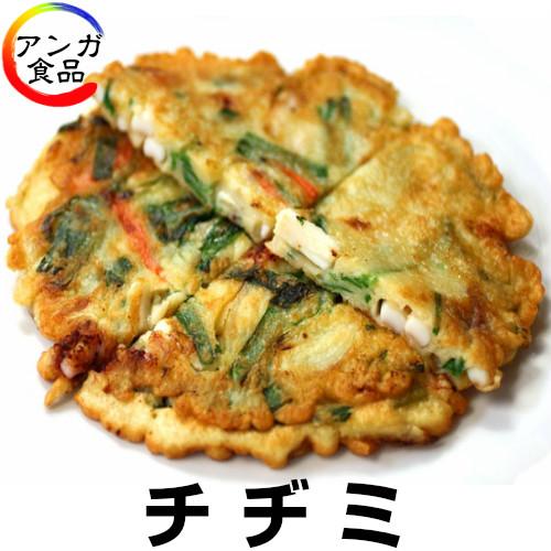 【冷蔵限定】 イカ入りチヂミ300g/1枚(当日焼き上げ)