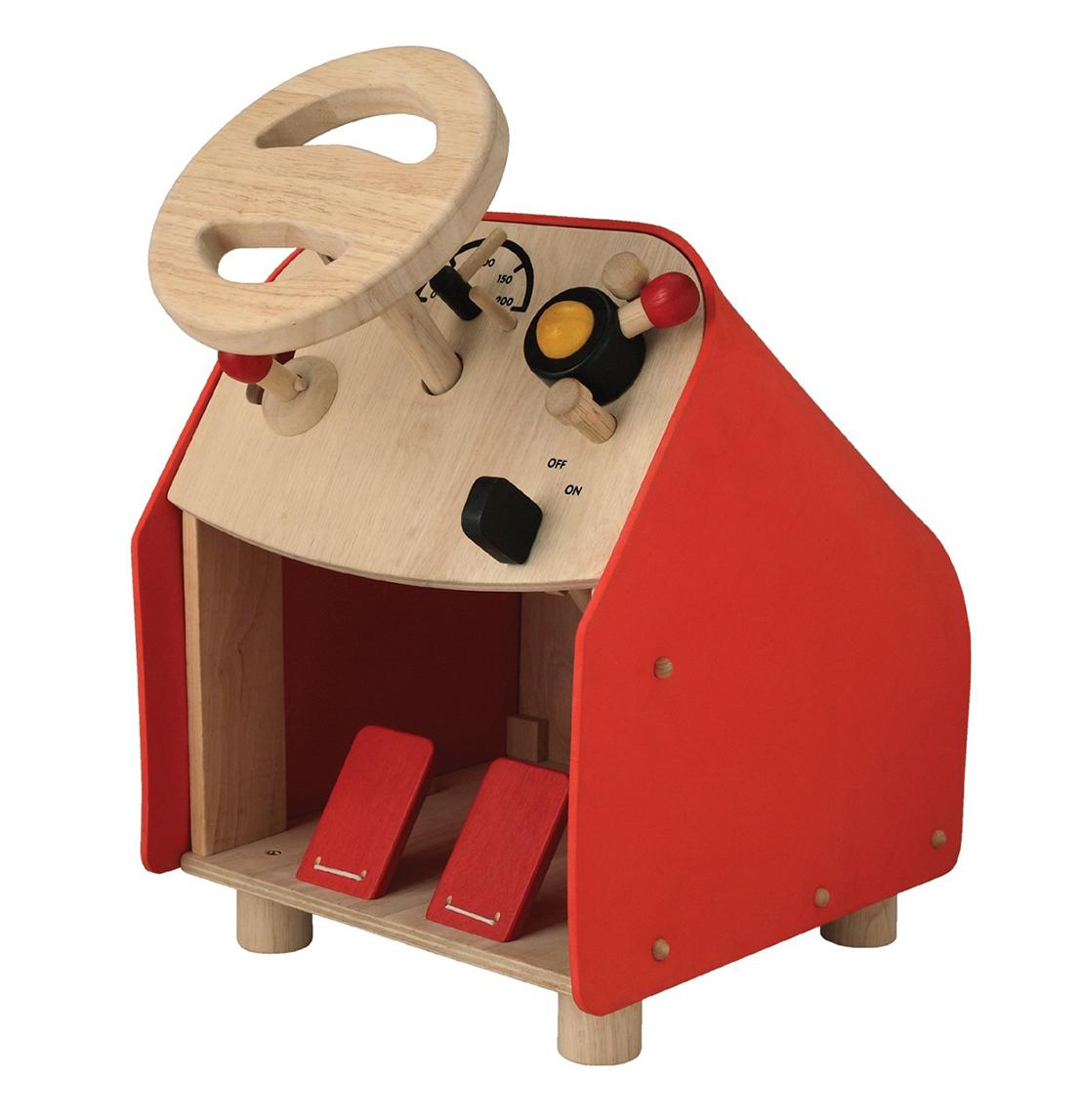 木製の乗用玩具(乗り物おもちゃ) PLANTOYS(プラントイ) 2775 ドライビングシート 木のおもちゃ 子供 誕生日 PLAN TOYS プラントイ 知育玩具木製 木のおもちゃ 出産祝い 誕生日 赤ちゃん 子供