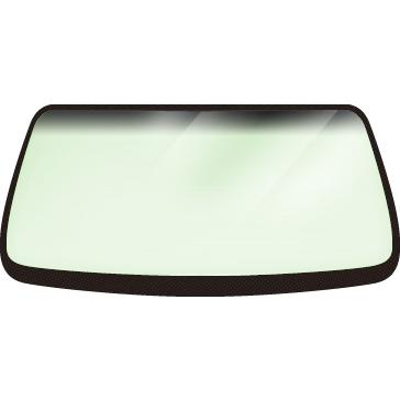 日産 ADワゴン/ レオーネ 4D WG用フロントガラス 車両型式:Y10系 年式:H.2.10-H.8.5 ガラス型式:Y10 ガラス色:グリーン ボカシ:グレー