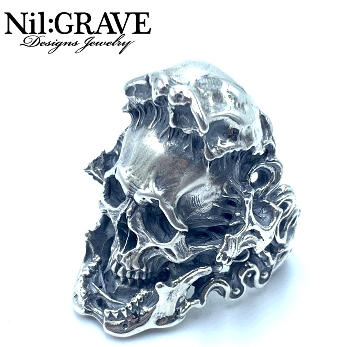 Nil:GRAVE Designs Jewelry/ニルグレイヴ デザインズジュエリースカパカル リング