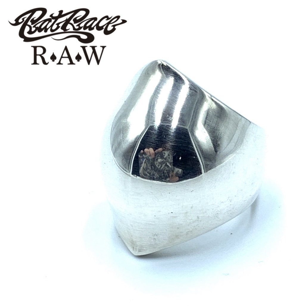 R.A.W/ラットアナザーワールド リングDOMED RING MARQUISE