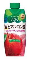 ☆TBCプロデュース☆ 森永乳業 有名な 贈物 TBC コラーゲンアップルミックスエステティックのTBCがお届けする身体と美しさをマネージメントする人のサポートドリンク☆330ml×12本入り Wヒアルロン酸