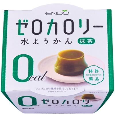 公式通販 遠藤製餡 ゼロカロリー水ようかん 抹茶90g×6個入り 激安セール 長期保存可能 ゼロカロリー