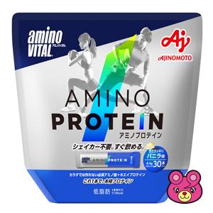 味の素 アミノバイタル アミノプロテイン バニラ味 パウチ 30本×10箱入