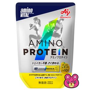 味の素 アミノバイタル アミノプロテイン レモン味 パウチ 10本×20箱入