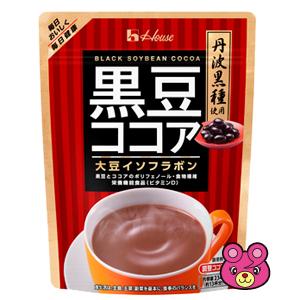 ハウスWF 黒豆ココア 234g×40袋入 ハウスウェルネスフーズ 【北海道·沖縄·離島配送不可】
