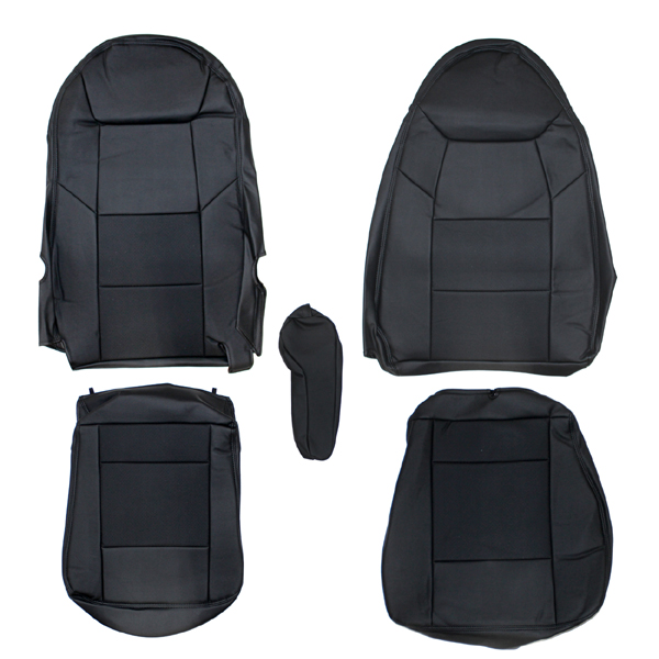 mrkikaku new super great seat covers leather mitsubishi fuso truck black truck supplies leisure. Black Bedroom Furniture Sets. Home Design Ideas