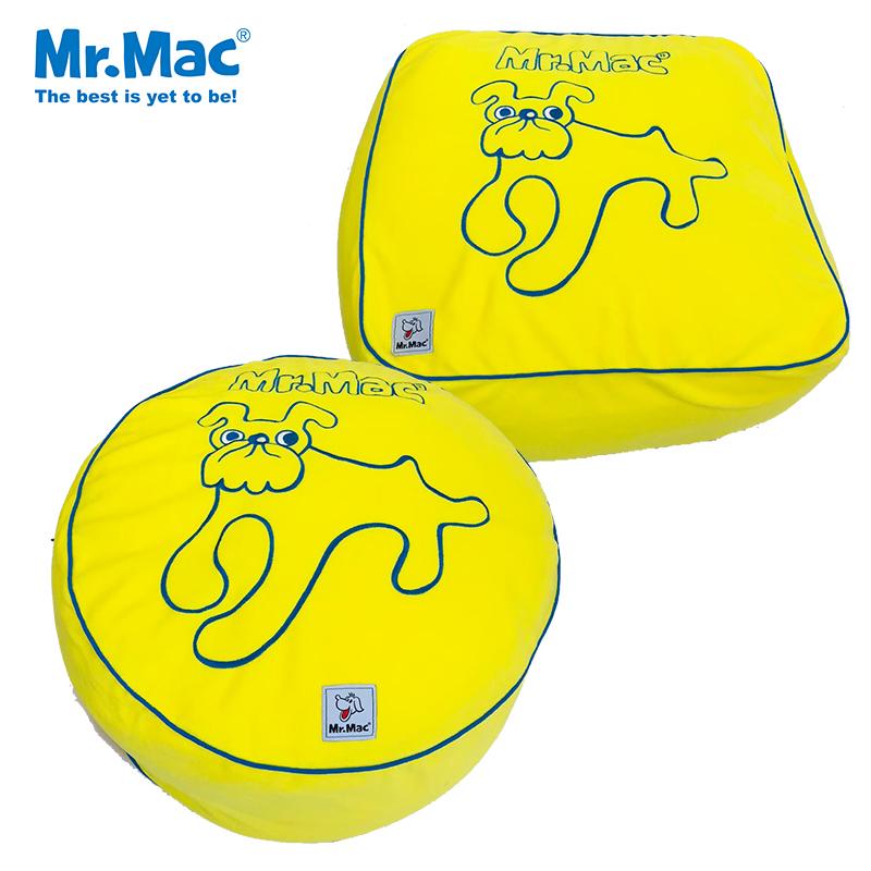送料無料 Mr.mac フリースベッドワイド ペットクッション ペットベッド 送料0円 ミスターマック クッション ベッド 犬用 猫用 犬 イエロー黄色 中型犬 あったか セール中 感謝価格 いぬ 可愛い 洗濯 大型犬 小型犬 イヌ かわいい