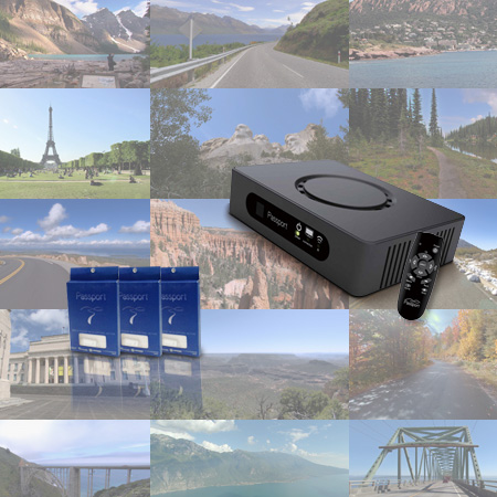 【パスポートプレーヤー(Passport Player)本体+ビデオパック(Video Pack)ABC全セット特別価格】Horizon Fitnessジョンソン(ホライゾンフィットネス)商品対応※対応商品:ルームランナー 8.1T/T7.1/Paragon8E/クロストレーナー Andes7i/バイク Comfort7/ComfortR