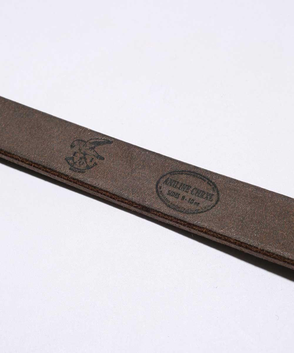 MR OLIVE ミスターオリーブ公式サイトMROLIVEE O IHORWEEN CHROMEXCEL LEATHER 20mm LONG BELT ホーウィンレザークロムエクセルレザー レザー ベルト真鍮hrdQxtsC