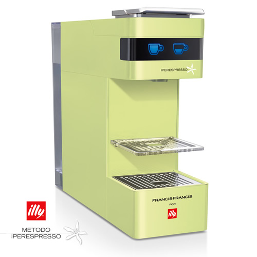 METODO iPERESPRESSO[illy イリー カプセル]専用エスプレッソマシンFrancisFrancis!Y3[ライム]■illy corner