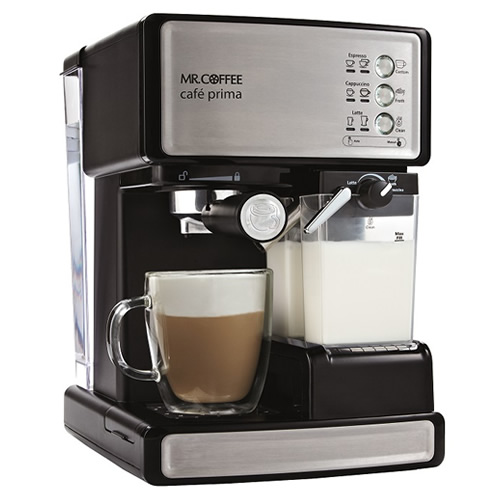 【illyカフェポッドプレゼント】【送料無料】エスプレッソマシンMR.COFFEEcafe Prima [カフェプリマ]■illy corner