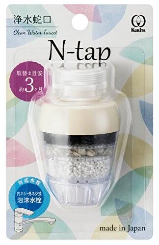<title>クリタック 限定モデル N-tap アイボリー NTI-2092 約幅3.7×奥行3.7×高さ4.6cm</title>