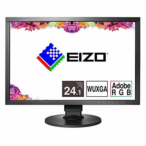 【送料無料】EIZO ColorEdge 24.1インチ カラーマネージメント 液晶モニター/WUXGA/Adobe RGB 99% / HDMI DVI-D / 5年間長期保証 CS2420-ZBK