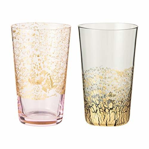 【送料無料】東洋佐々木ガラス グラス 江戸硝子 金玻璃 冷酒杯揃え 日本製 100ml G641-T82 2個入