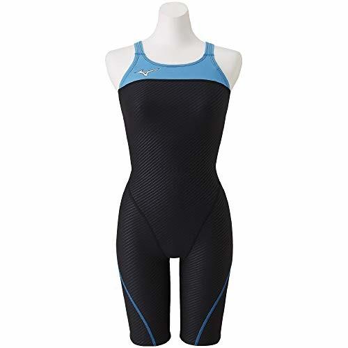 【送料無料】MIZUNO(ミズノ)競泳水着 トレーニング 練習用 レディース エクサースーツ ハーフスーツ N2MG0264 カラー:ブラック サイズ:L