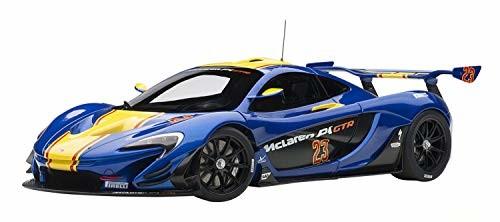 【送料無料】AUTOart 1/18 マクラーレン P1 GTR ブルー/イエロー 完成品