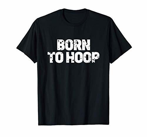 Born To Hoop Basketball Hooper Distressed Practice Jersey Tシャツ