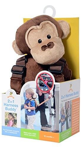 サービス goldbug Animal 商舗 Harness Monkey 23636 迷子防止ぬいぐるみハーネス モンキー ポリエステル