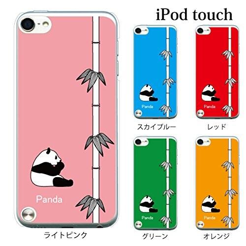 +S 定価 iPod touch 第6 再入荷/予約販売! 第7世代 ケース 1011-GR パンダ クリア ハードケース 竹