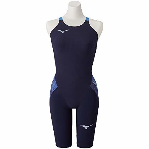 【送料無料】MIZUNO(ミズノ) レース用競泳水着 レディース GX・SONIC V MR ハーフスーツ N2MG0202 カラー:ブルー サイズ:M FINA(国際水泳連盟)承認済み