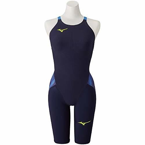 【送料無料】MIZUNO(ミズノ) レース用競泳水着 レディース GX・SONIC V ST ハーフスーツ N2MG0201 カラー:ブルー サイズ:L FINA(国際水泳連盟)承認済み
