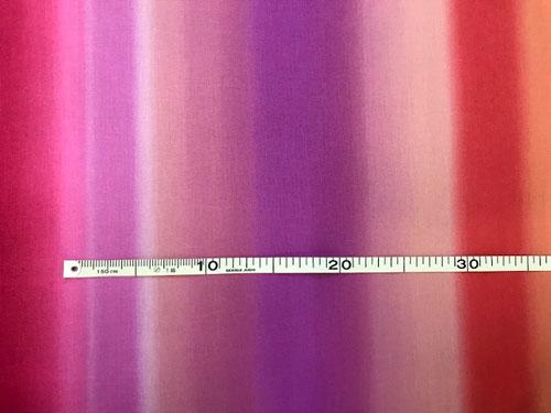 パッチワーク生地 ハワイアン キャシーマム 新生活 プリント布 10cm単位 切り売り 赤系ボーダー柄レインボーシャワー 特価