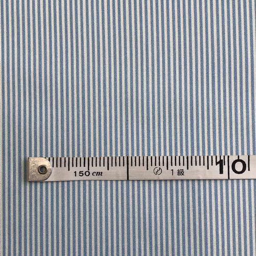 パッチワーク生地ストライプ柄 (訳ありセール 格安) プリント布 贈答品 ブルー系