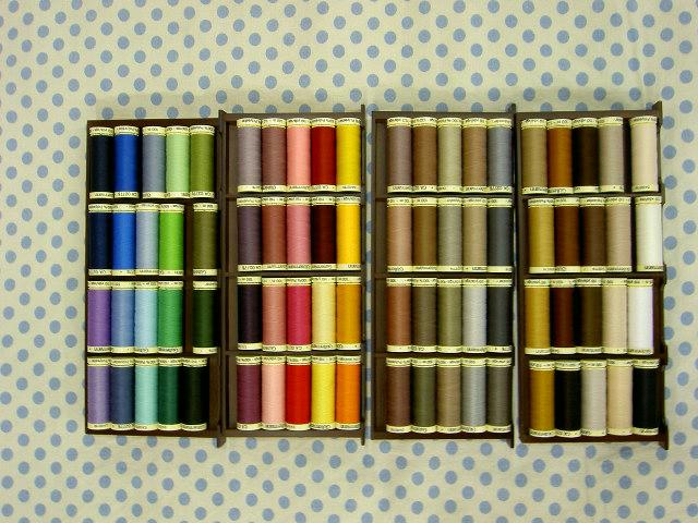 ギッターマン 糸 セット パッチワーク ギッターマン縫い糸パッチワーク 糸80色セット