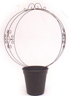 ベルツモア・ジャパン製 装飾付き 丸型 フレーム (SP-1000)