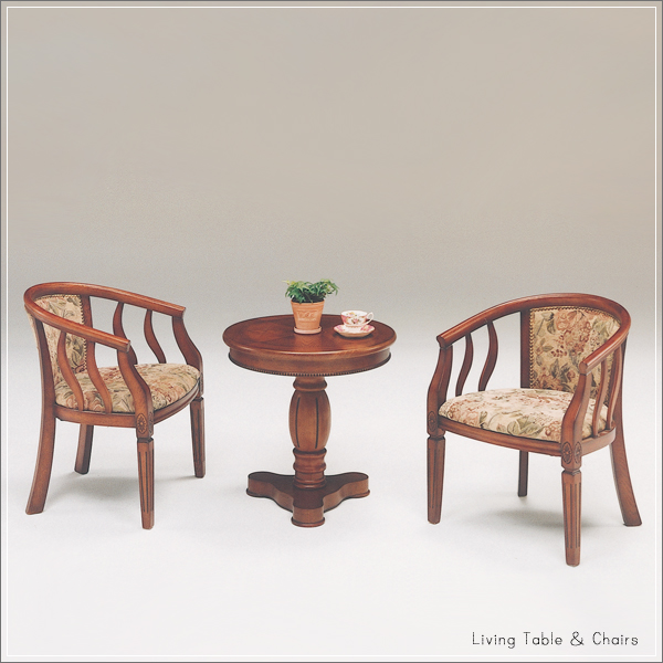 Tea Table Set 2 For Reception Table Dining Table Round Wood Round Table  Circle Table Round
