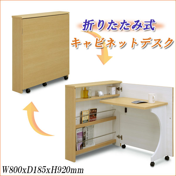 Cabinet Desk 80 Desks Folding Smart Desk Folding Compact Desk Flat Screen  Luxury Storage Desk ...