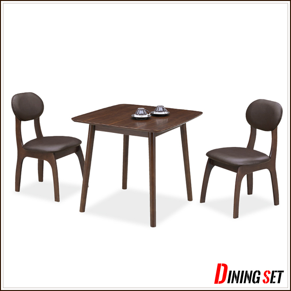 75 wide dining 3-piece set ... & ms-1 | Rakuten Global Market: Dining table width 75 depth 75 height ...