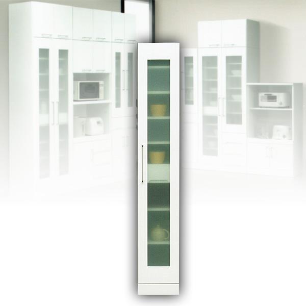 すき間収納 食器棚 30 隙間収納 ホワイト スリムボード 白 完成品 【送料無料】
