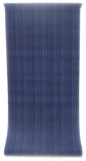 ◇ ◇ ◇ 男性用 紳士用 メンズ ◇ ◇ ◇先染め糸の変わり織り   紺青色と空色の矢鱈縞柄(反物)◇ お仕立て(国内手縫い)¥11,000(税別)で承ります。