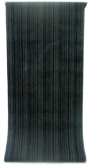 ◇ ◇ ◇ 男性用 紳士用 メンズ ◇ ◇ ◇先染め糸の変わり織り   黒&グレー モノトーンの矢鱈縞柄(反物)◇ お仕立て(国内手縫い)¥10,000(税別)で承ります。