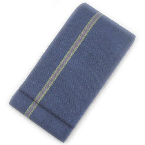 ☆ 大奉仕品 ☆本場西陣 麻の半幅帯(青褐色)