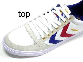 2016 新悍马运动鞋 hummel 日本真正鞋男装鞋运动鞋男式苗条如斯帆布低白色红色蓝色白色红色蓝色帆布麂皮绒聚氨酯橡胶帆布点 10 倍