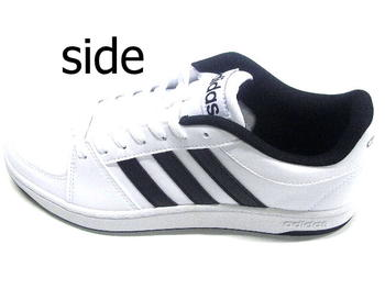 Ms Latest The Leather ShoeSynthetic White Black Adidas For mn0w8yNPvO