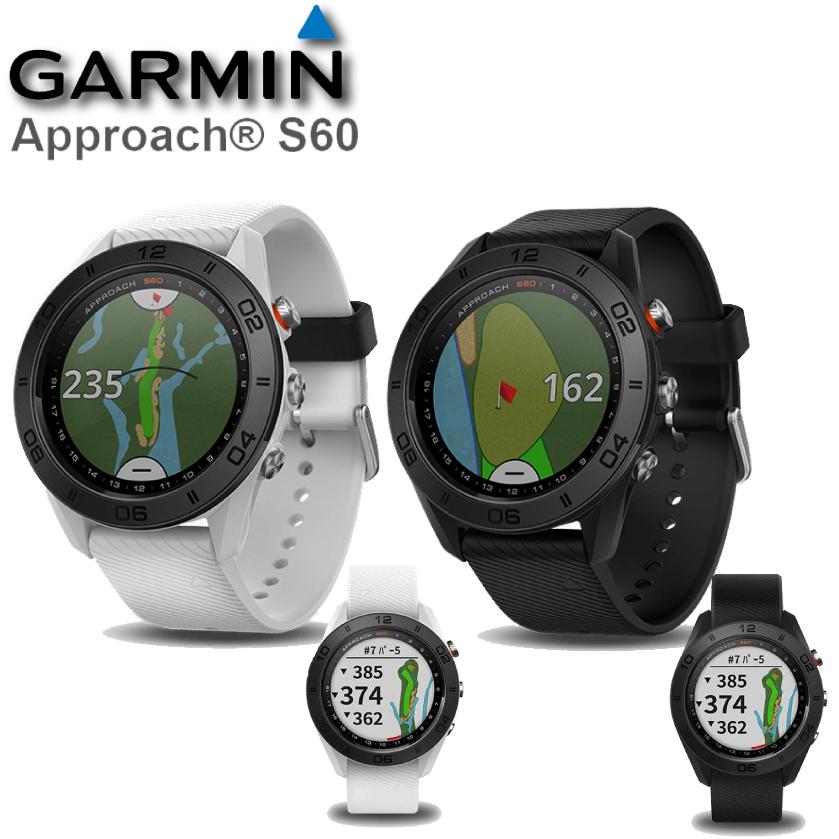 GARMIN ガーミン アプローチ Approach  S60 腕時計型GPSゴルフナビ GPSナビ 腕時計型ゴルフナビ