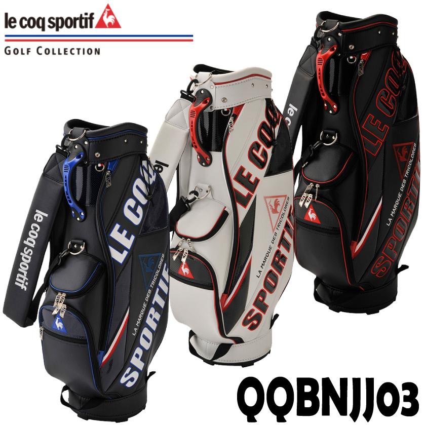 ルコック キャディバッグ(19FW) QQBNJJ03 le coq sportif GOLF (ルコックゴルフ)