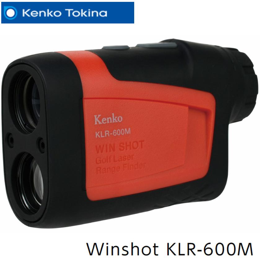 最大600m先までの距離が計測可能なゴルフ用レーザー距離計 NEW 注目ブランド ケンコートキナー レーザーレンジファインダー Winshot KLR-600M TOKINA レーザー距離計 距離測定器 ゴルフ用 KENKO